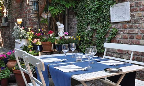 Le restaurant Zio à Waterloo